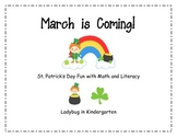 March is Coming- St. Patrick's Day and March Weather Prediction