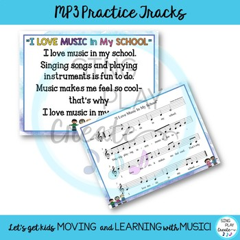 """March is Music In Our Schools Month Acapella Round: """"I Love Music In My School"""""""
