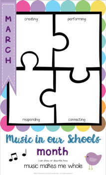 March is... Music in our Schools Month poster