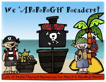 March is Reading Month - Pirate Theme Bundle