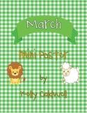 March mini poster