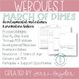 March of Dimes Webquest || Developmental Milestones & Premature Babies II