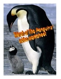 """March of the Penguins"" Video Worksheet/Answers"