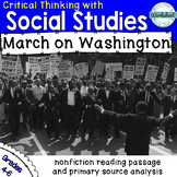 March on Washington: Analyze a Photo and Reading Passage