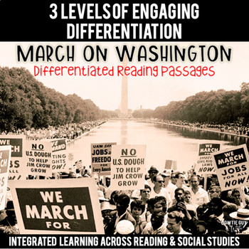 March on Washington Reading Passages Leveled Texts