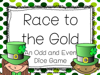 Race to the Gold: An Odd and Even Dice Game