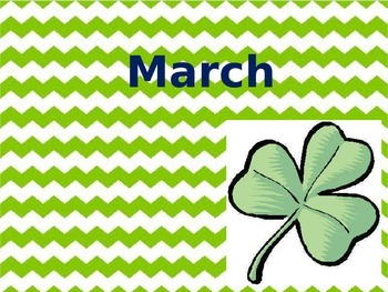 March thru May Writing Prompts