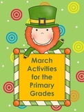 March~Math & Literacy Activities for Primary Grades St. Patrick's Day, Easter