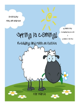 March/Spring Literacy and Math Activities