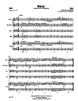 Marche (Anna Magdalena Notebook)