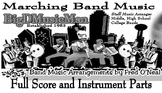 Marching Band Arrangement - Happy as performed by Pharrell
