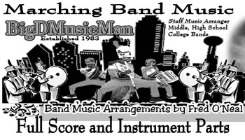 Marching Band Arrangement - Throw Some Mo as performed by