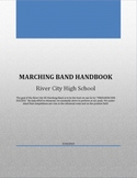 Marching Band Handbook - Editable in Word