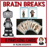 Marching Brain Break Cards