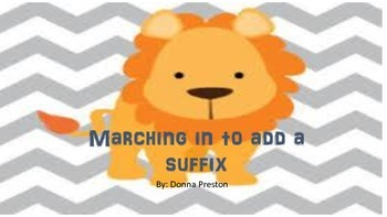 Marching In to Add a Suffix