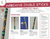 Marching Musical Jingle Sticks