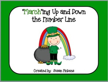 """""""March""""ing Up and Down the Number Line (Addition Facts 0-10)"""
