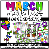 March Math Tubs: SECOND Grade
