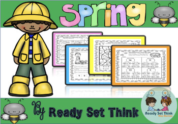 Marching into Spring (First Grade Math and Literacy)