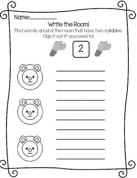 Marching into spring-March Literacy Stations- Lions & Leprechauns & Lambs, oh my