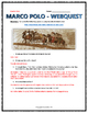 Marco Polo (Age of Exploration) - Webquest with Key