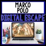 Marco Polo DIGITAL ESCAPE ROOM for Google Drive® Distance Learning