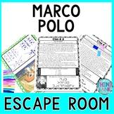 Marco Polo ESCAPE ROOM:  Kublai Khan and Mongol Empire