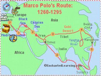Marco Polo Trivia Game Flipchart