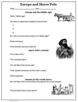 marco polo worksheet by wise guys teachers pay teachers. Black Bedroom Furniture Sets. Home Design Ideas