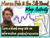 Marco Polo & the Silk Road Map Activity: Fun, engaging follow-along 25-slide PPT