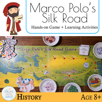 marco polo 39 s silk road game by rebecca reid teachers pay teachers. Black Bedroom Furniture Sets. Home Design Ideas