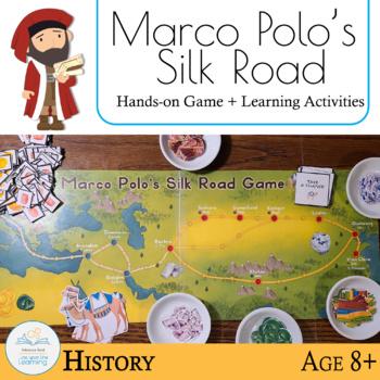 Marco Polos Silk Road Game By Rebecca Reid Teachers Pay Teachers