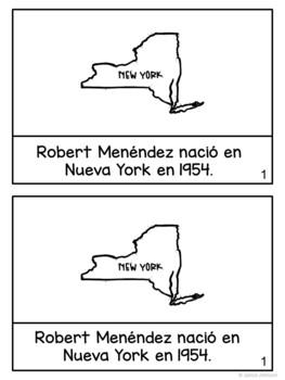 Marco Rubio & Bob Menéndez Readers {Hispanic Heritage Month} Spanish version