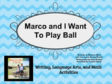 Marco and I Want to Play Ball Activity Pack