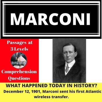 Marconi Nobel Prize Winner Differentiated Reading Passage December 12