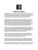 Marcus Aurelius Biography Article and Assignment
