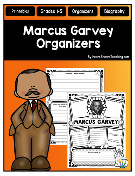 Marcus Garvey Research Organizers for Black History Month