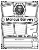 Marcus Garvey Organizers for Guided Research - Perfect for