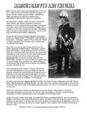 Marcus Garvey Biography and Reading Worksheet