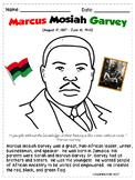 Marcus Garvey Coloring Sheet
