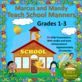 School Manners - 14 Minute Presentation with Audio