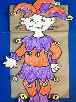 Mardi Gras Puppet