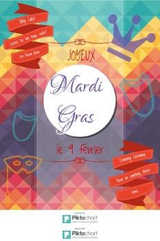 FREE Mardi Gras 2016 Promotional Poster