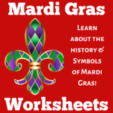 Mardi Gras Booklet Craft Activity