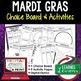 Mardi Gras Activities BUNDLE, Digital Graphic Organizers, Google Link