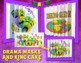 Mardi Gras Activities and Crafts: 3 Color-by-Number Agamographs (Bulletin Board)