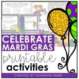 Mardi Gras Fun Activity Bundle
