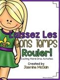 Mardi Gras Activity Pack: Laissez Les Bons Temps Rouler