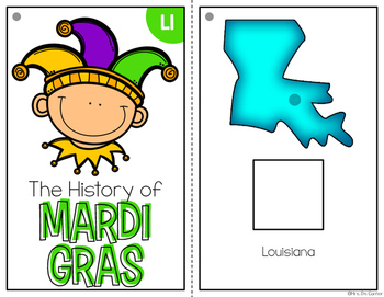 Mardi Gras Adapted Books { Level 1 and Level 2 } Fat Tuesday