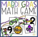 Mardi Gras Addition & Subtraction Center